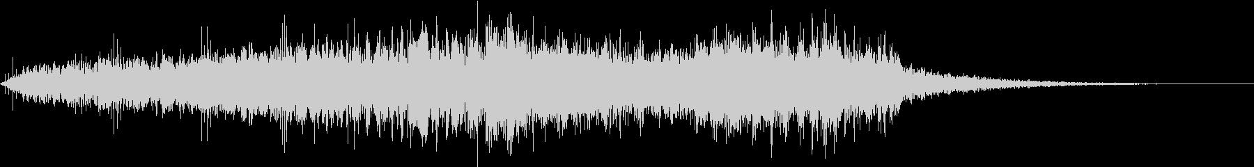 CINEMATIC RISER_15の未再生の波形