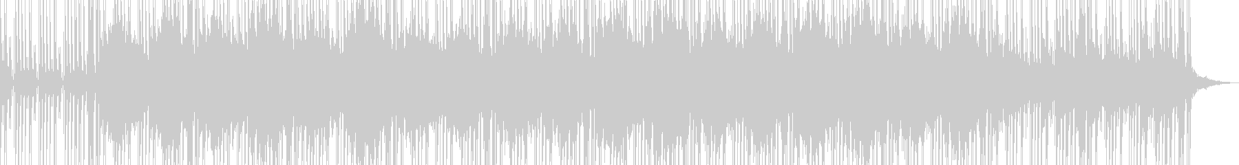 ローファイヒップホップ アンビエントの未再生の波形