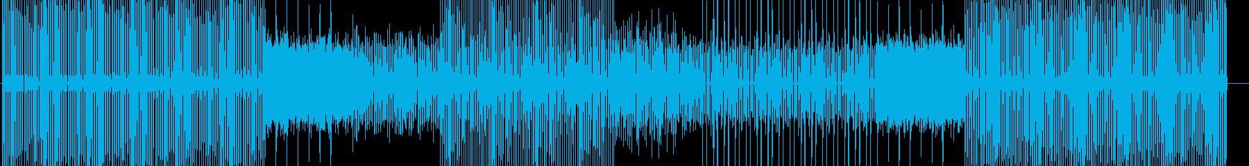 テック-ハウス-アンビエント-ニュースの再生済みの波形