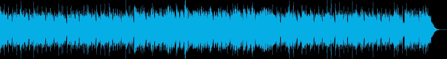 哀愁漂う昭和の演歌風BGM2の再生済みの波形