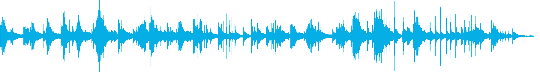 ヒーリングピアノ組曲 ただよう 4の再生済みの波形