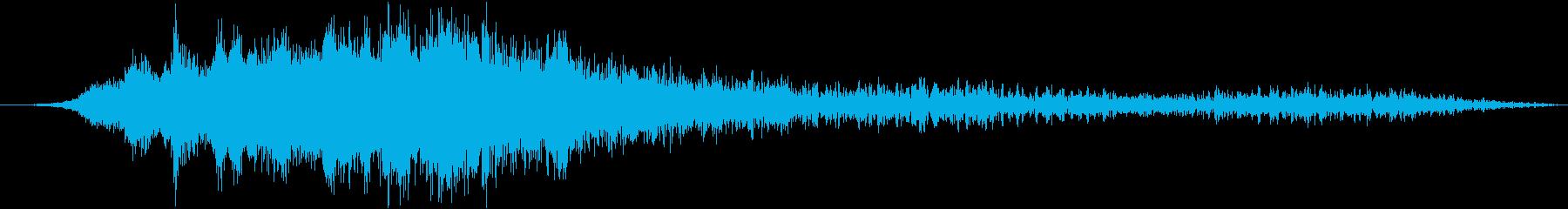 エアバスA320旅客機:内線:離陸...の再生済みの波形