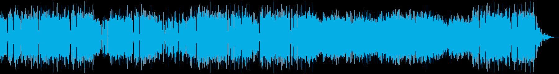 ピアノ ギター フルート チル スローの再生済みの波形