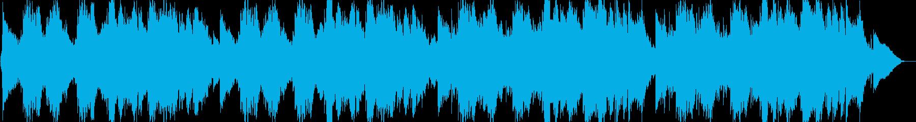 叙情的な感動のピアノバラードの再生済みの波形
