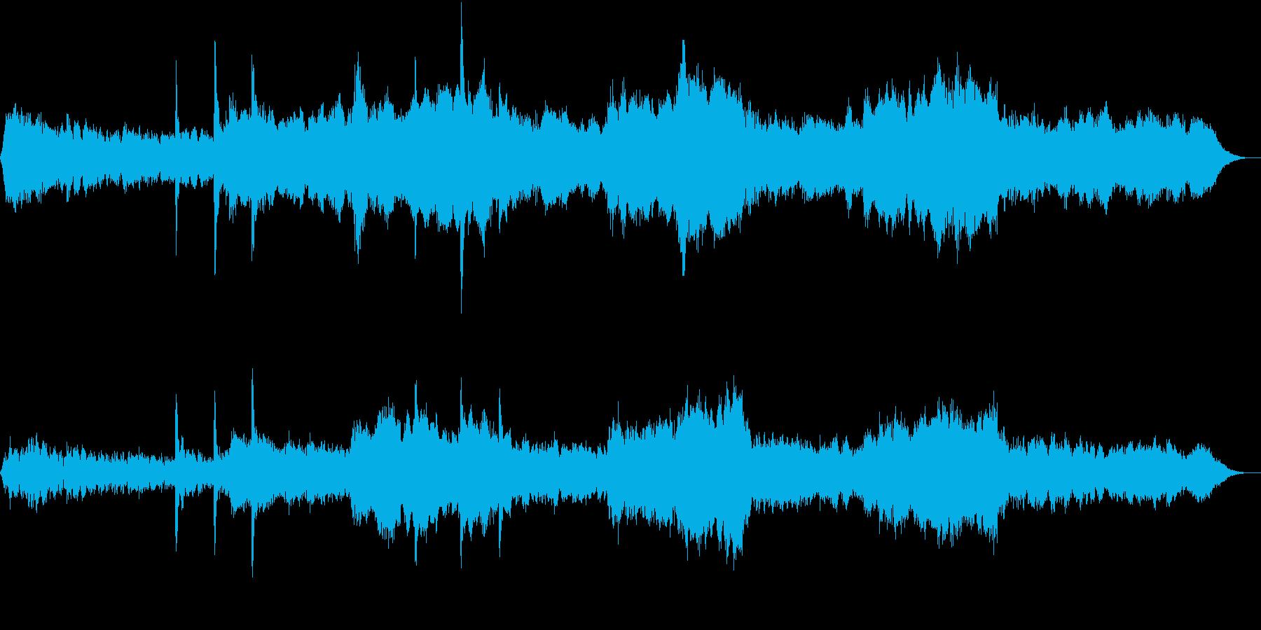 映画ブレードランナー風ダークなBGM2の再生済みの波形