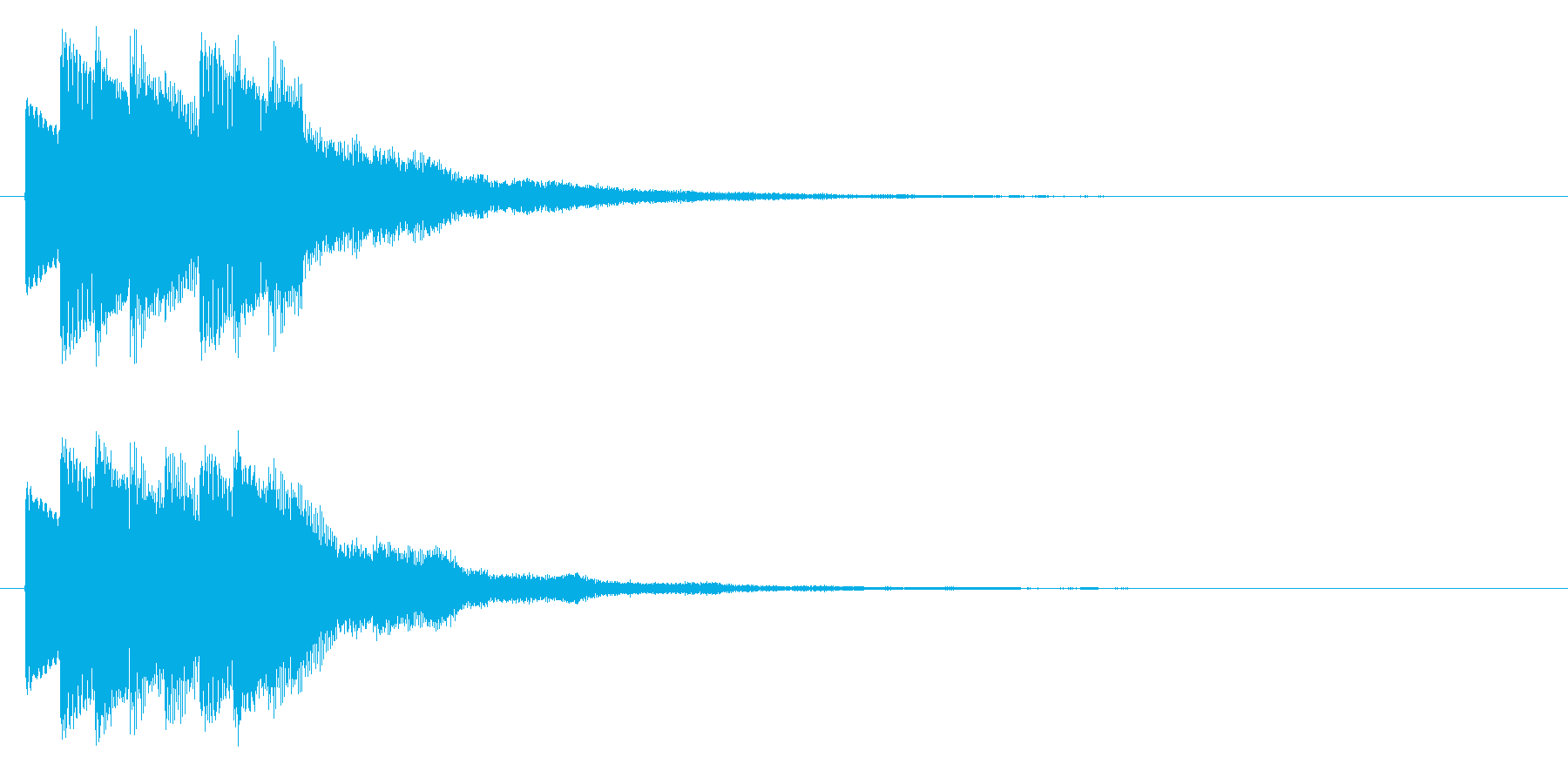 決定/SF系/キラキラの再生済みの波形