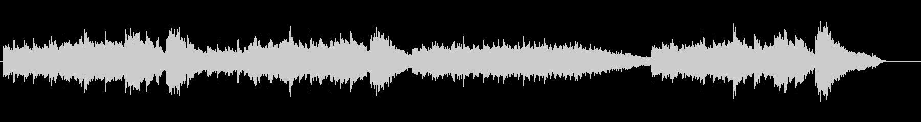 環境音楽(リラクセーション系)の未再生の波形