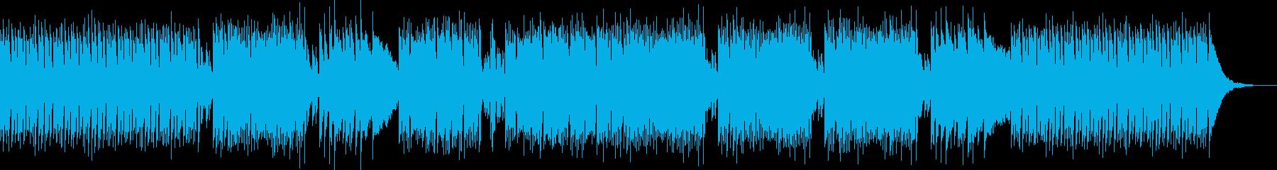 さわやかで明るい生演奏ギターのボサノバの再生済みの波形