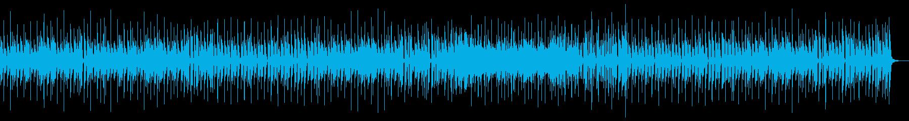 リコーダーでほのぼのとしたポップスの再生済みの波形