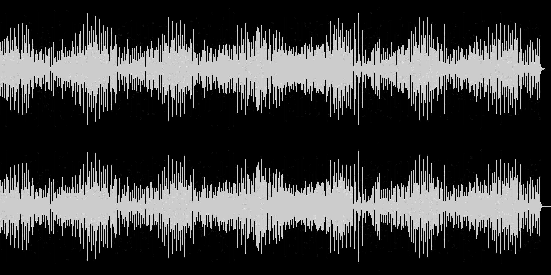 リコーダーでほのぼのとしたポップスの未再生の波形