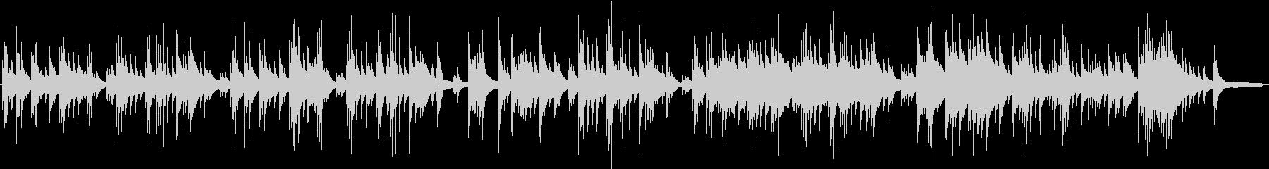 淡々とした切ないピアノバラードLIVEの未再生の波形