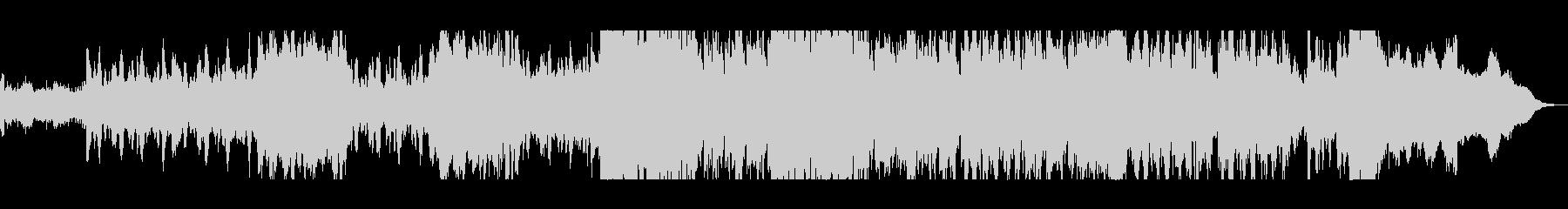 シリアスな弦楽器シンフォニーテクノの未再生の波形
