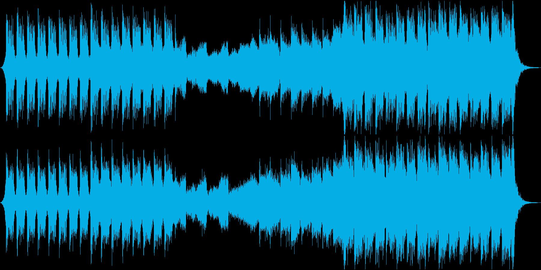 壮大な歴史・アクションRPG向けBGMの再生済みの波形
