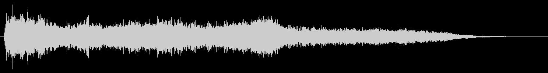 ホラー映画に出てきそうなノイズ系音源01の未再生の波形