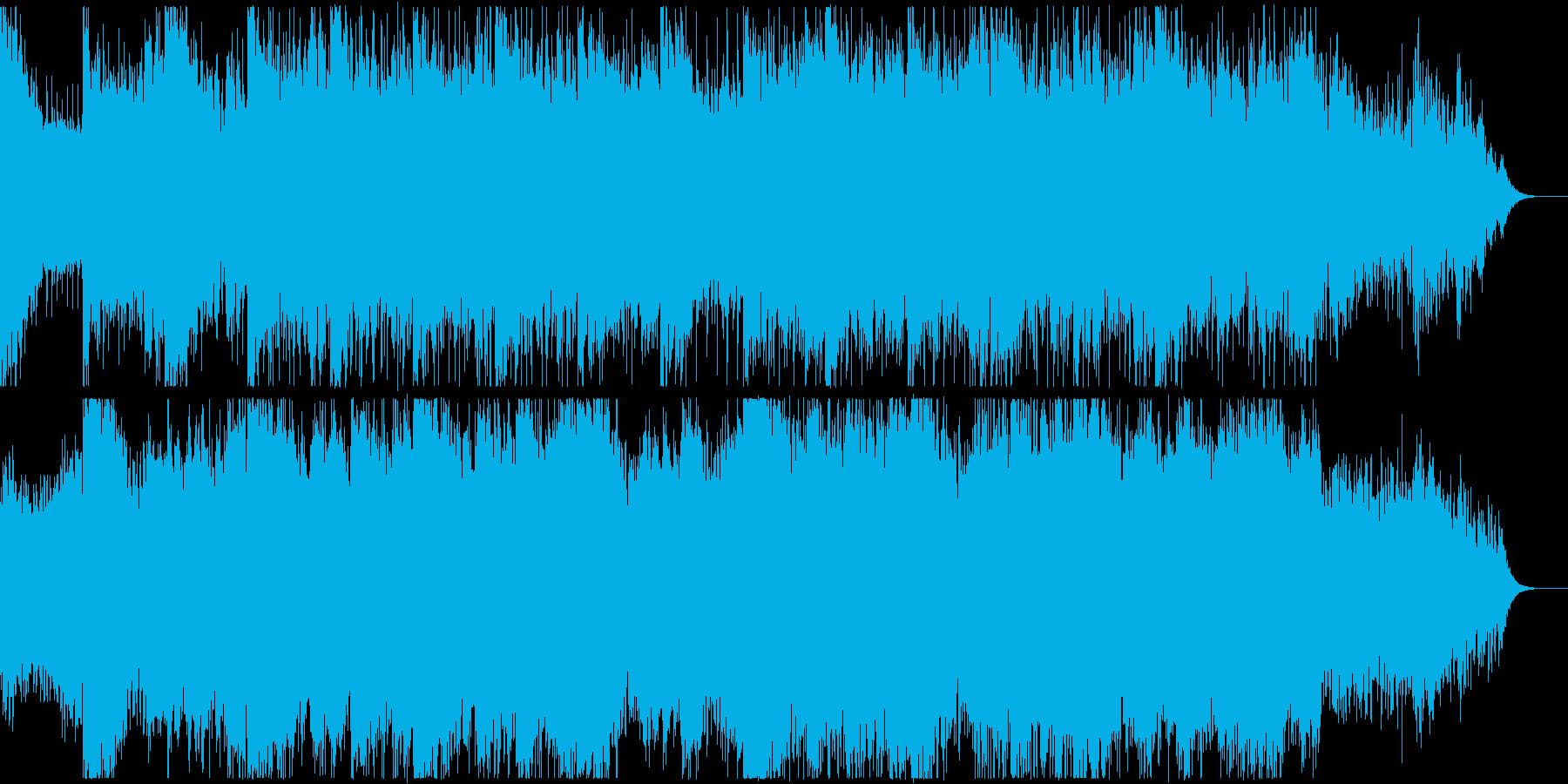 都会的なエレクトロニカの再生済みの波形