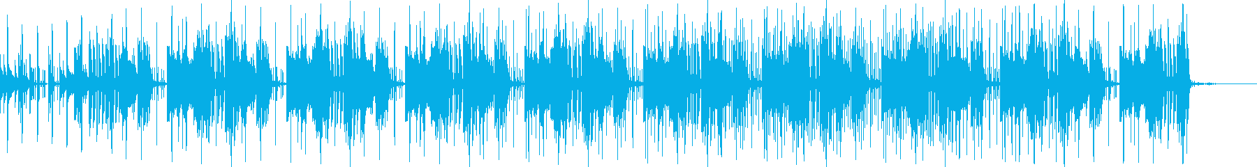 楽しい シンセ CM ピアノ おしゃれ の再生済みの波形