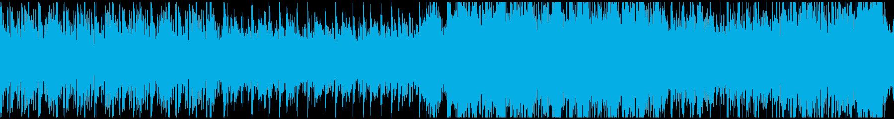 ループ素材 ダンジョン 要塞 洞窟の再生済みの波形
