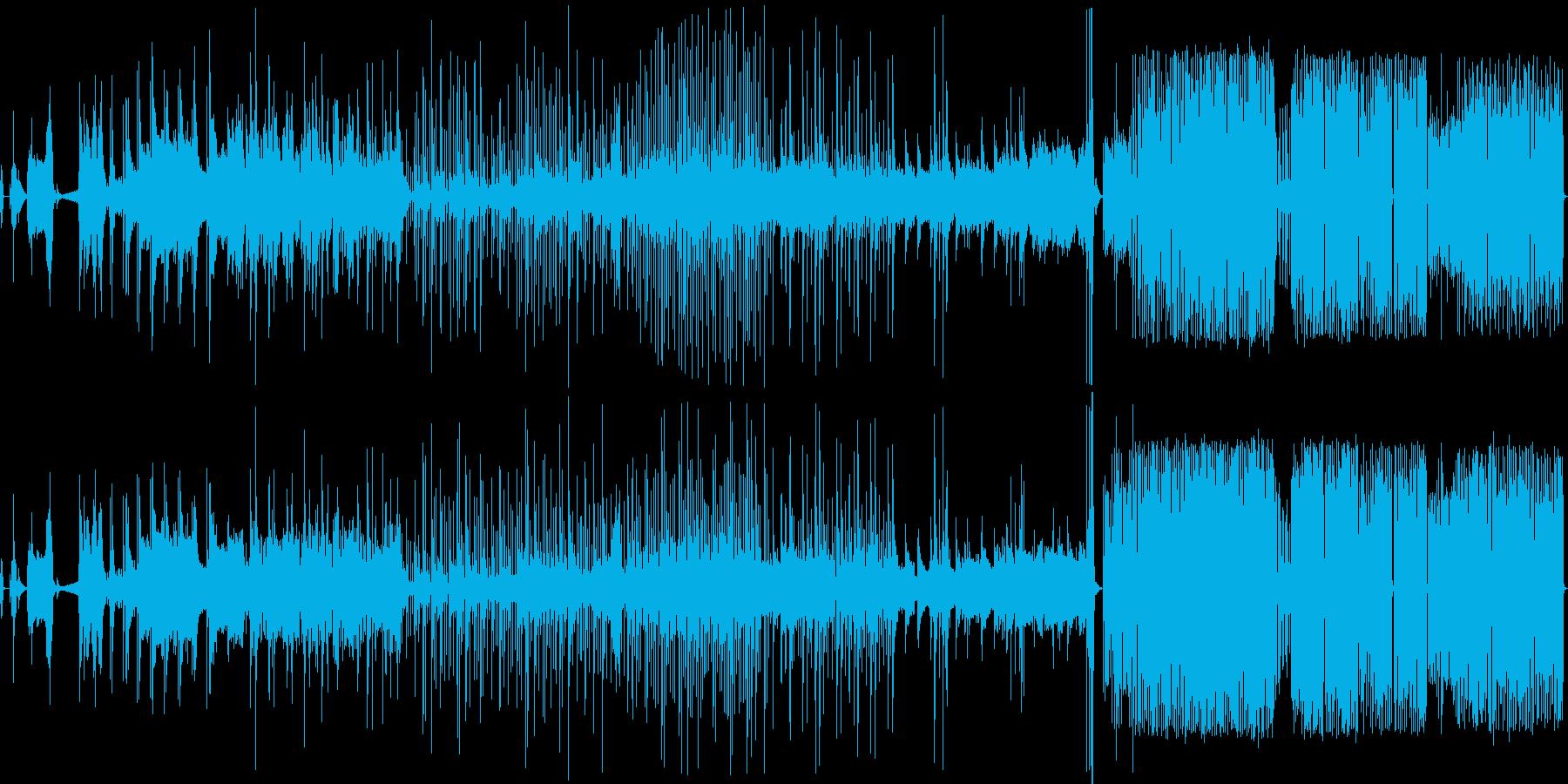 コンピュータサウンド〜3部作〜の再生済みの波形