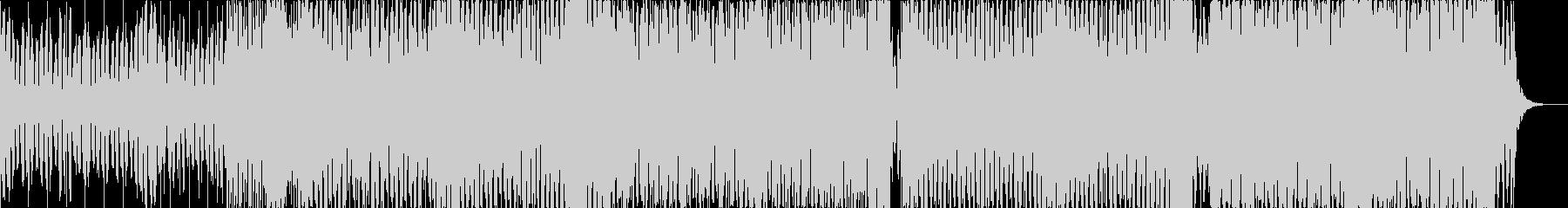 低音が激しいエレクトロハウスの未再生の波形