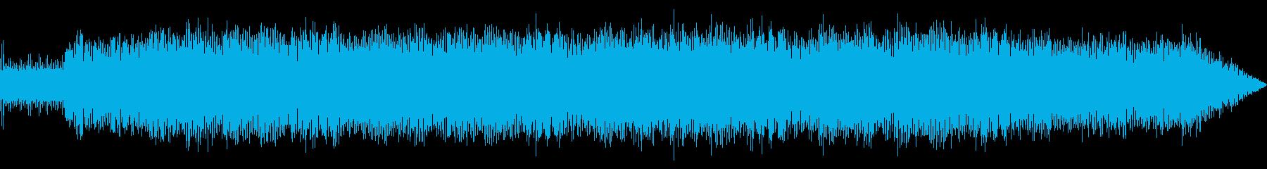 緊迫感のあるテクノポップの再生済みの波形