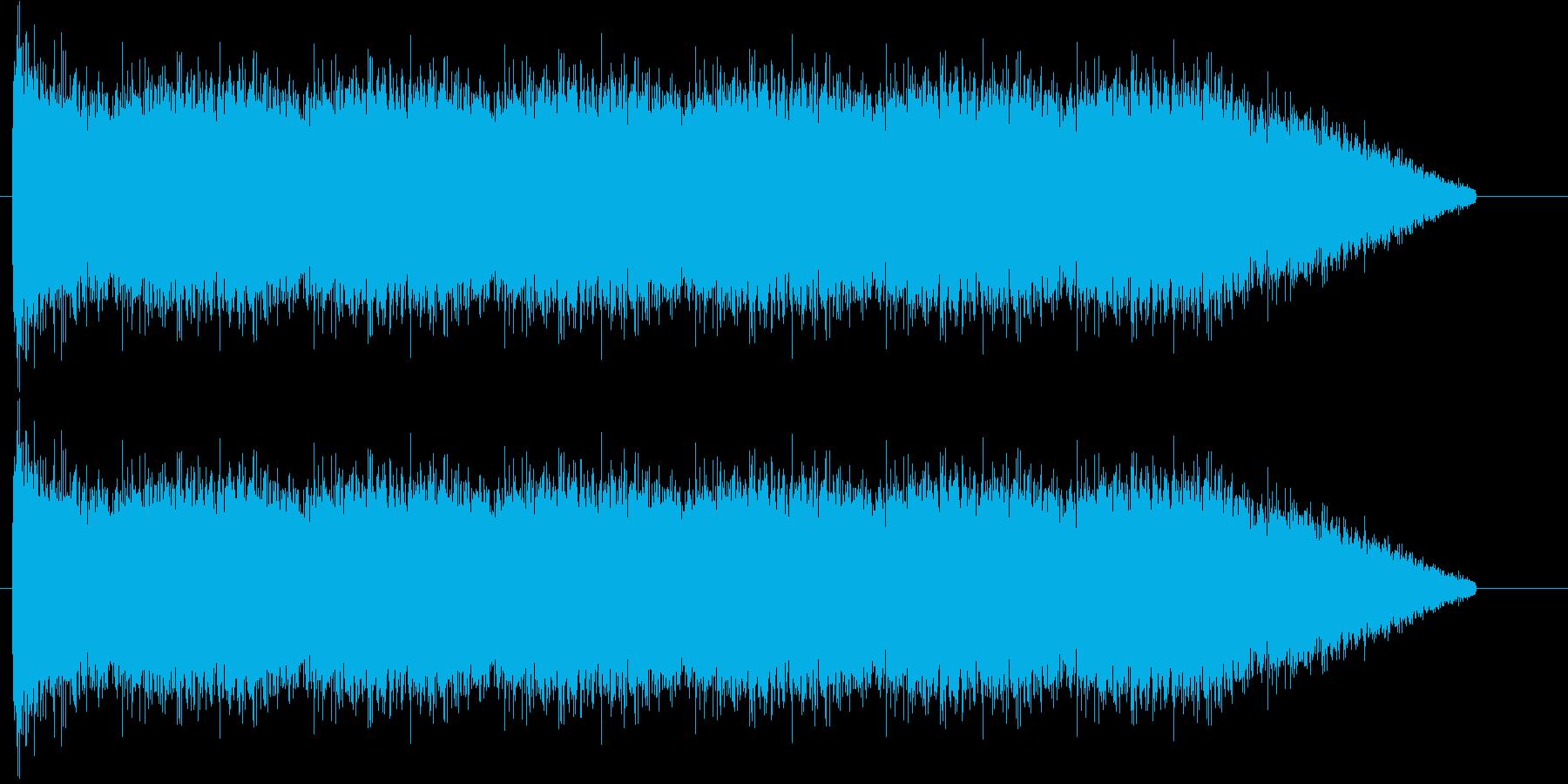 シュー!ガス漏れの効果音です!の再生済みの波形