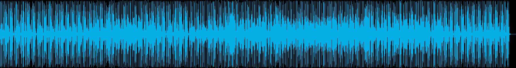 ファンキーなレトロな雰囲気。アップ...の再生済みの波形