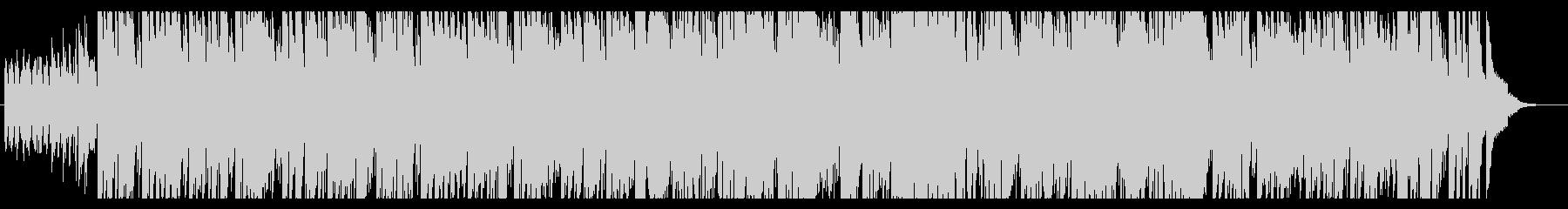 ゆったり、ほのぼのとしたブルースナンバーの未再生の波形