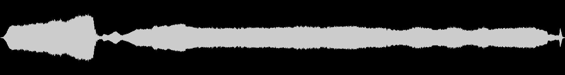 ホイッスルトレインシュリルダブルブロの未再生の波形