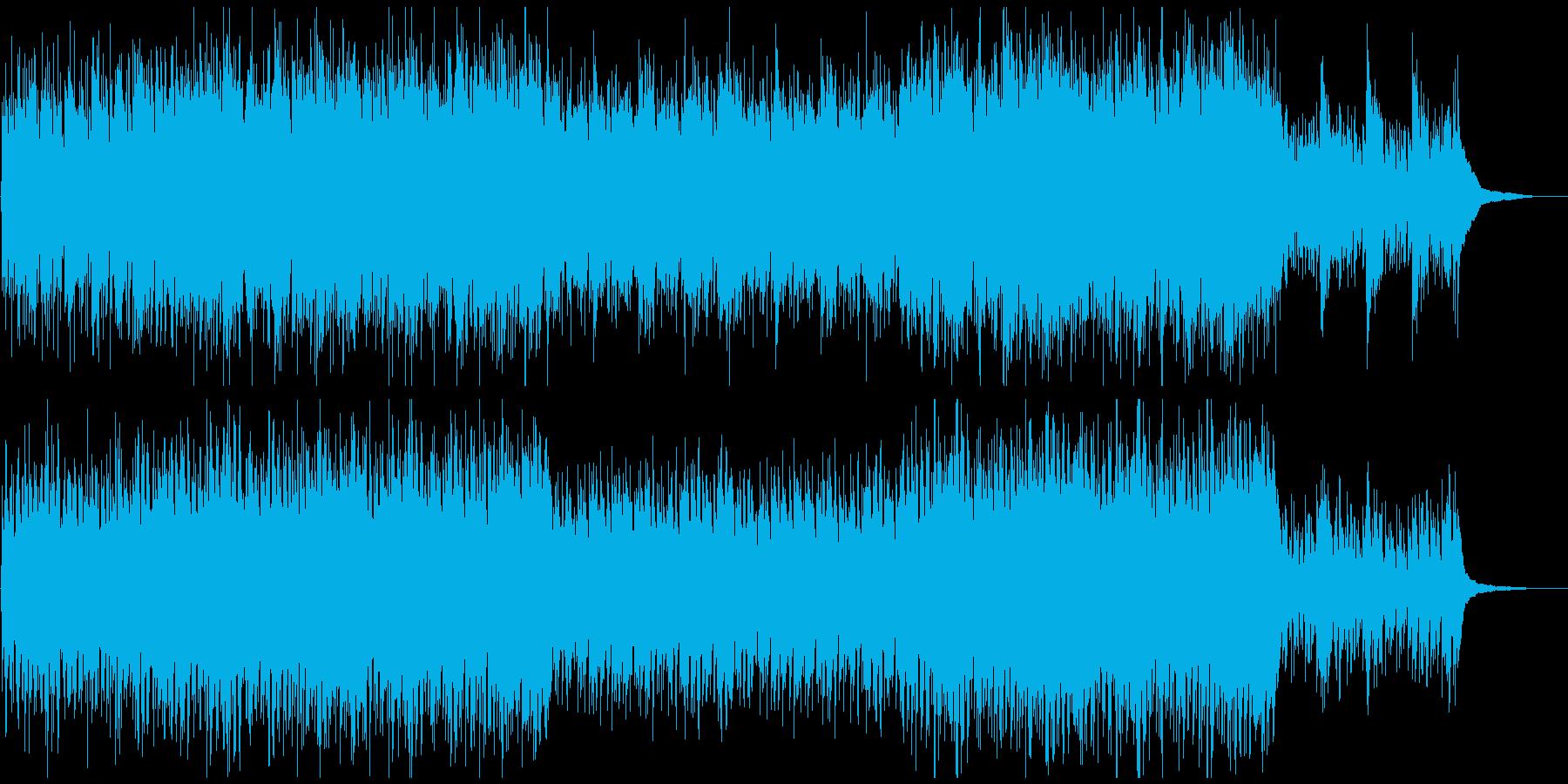 おしゃれ感動映像に 癒しピアノバラードの再生済みの波形