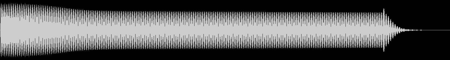 ピー(click_決定_01)の未再生の波形