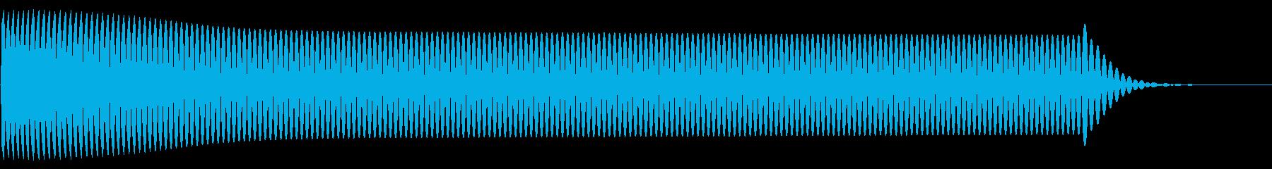 ピー(click_決定_01)の再生済みの波形