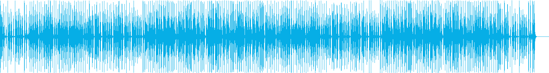 BGM that recorder is fun and cute's reproduced waveform