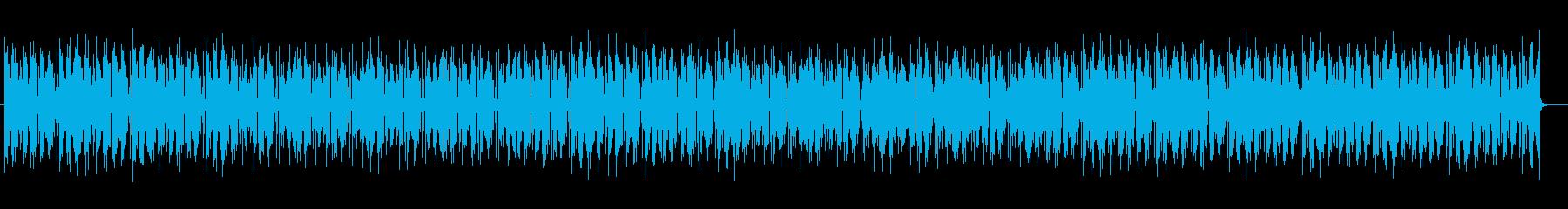 独特で不思議なゲームBGMの再生済みの波形