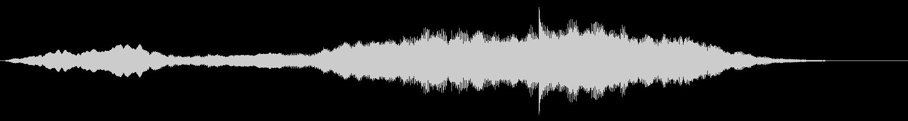 スローでソフトなシンセ移行またはロゴの未再生の波形