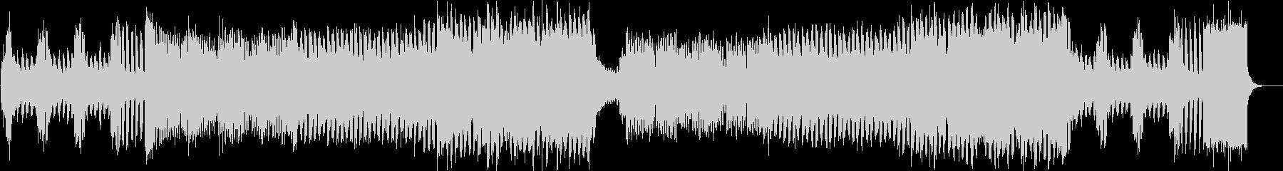 ピアノイントロ、キラキラしたJPOP風bの未再生の波形