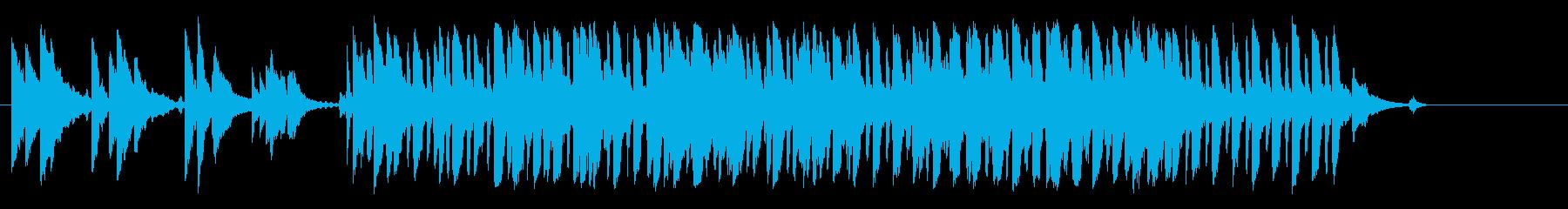 ブルース けだるい アンプラグド 夜の再生済みの波形