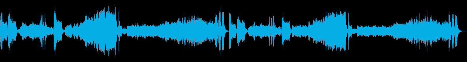 定番クラシック・運命・ベートーベンの再生済みの波形