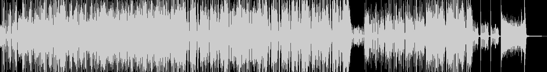 賑やかでハイテンションなスカポップ Dの未再生の波形