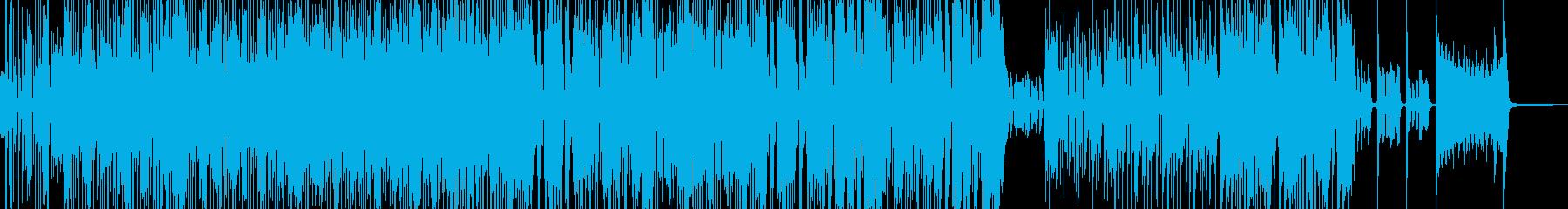 賑やかでハイテンションなスカポップ Dの再生済みの波形