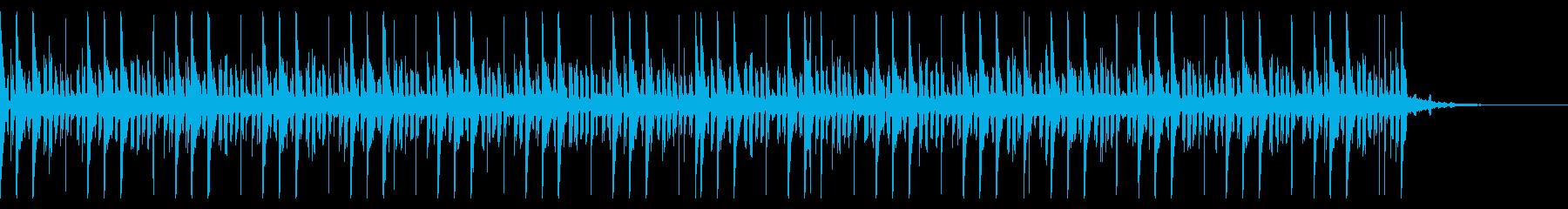 140 BPMの再生済みの波形