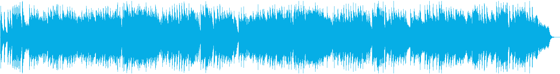 幻想的でゆっくりなメロディーの再生済みの波形