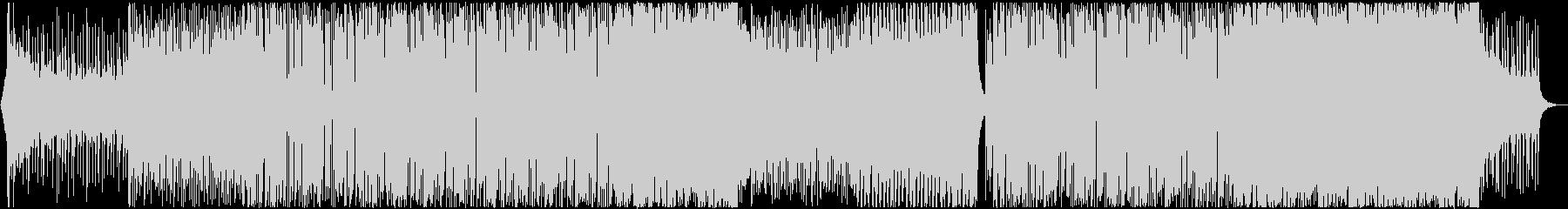 スタイリッシュなネオンフューチャーベースの未再生の波形