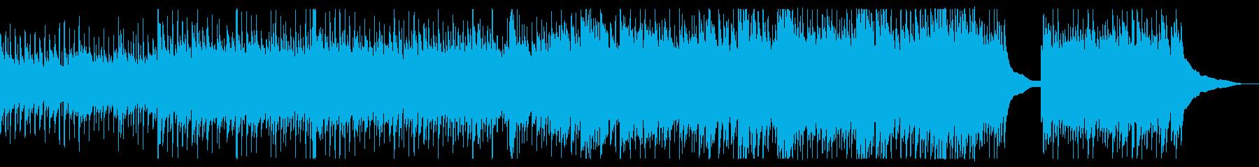 企業PVアコースティックBGMの再生済みの波形