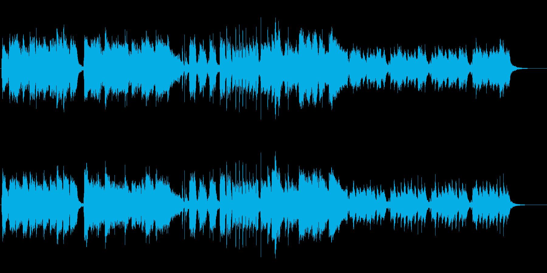 CM PV プレゼン疾走感おもしろジャズの再生済みの波形
