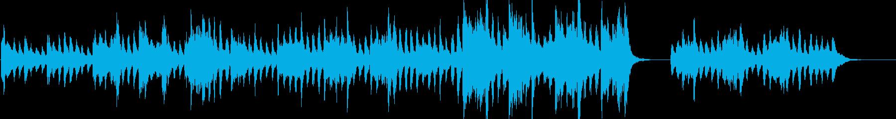 オーケストラ楽器。風格のある、エレ...の再生済みの波形