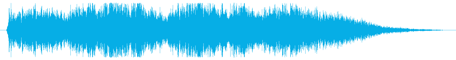 合唱団 ハレルヤショート01の再生済みの波形