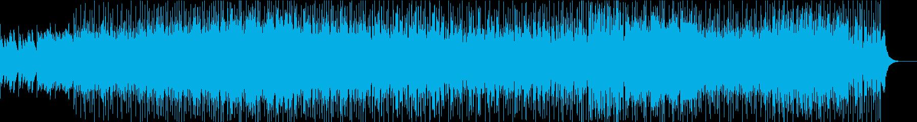 癒しを齎すローファイ・チルアウトの再生済みの波形