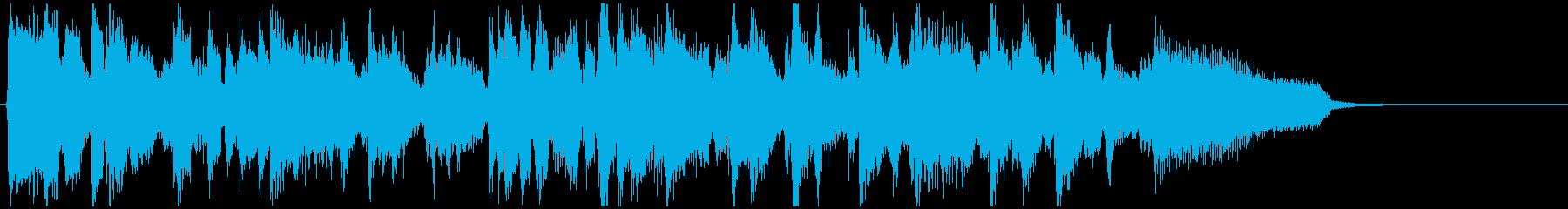 モダンな直球スイング◆CM系15秒ジャズの再生済みの波形