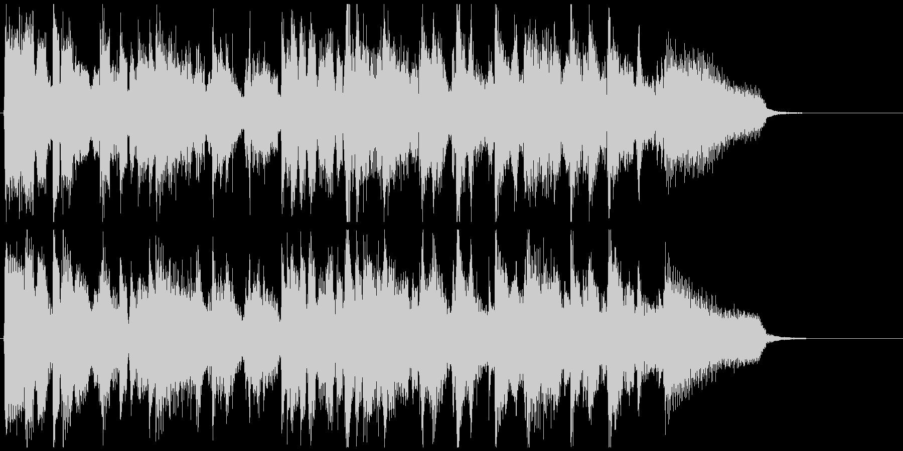 モダンな直球スイング◆CM系15秒ジャズの未再生の波形