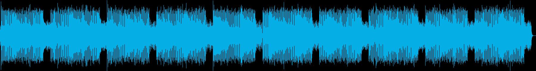 切ないチルアウト、ヒップホップの再生済みの波形